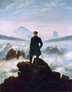Wanderer Above the Sea of Fog - Casper David Friedrich